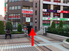iphone修理新橋店の道案内03