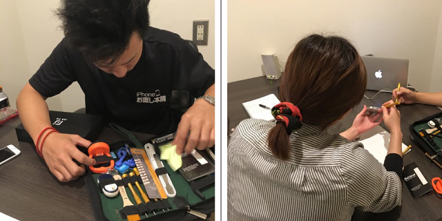 iPhone修理のiPhoneお直し本舗 群馬県高崎店のスタッフ紹介
