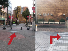 iPhone修理のiPhoneお直し本舗 埼玉県浦和店の道案内04
