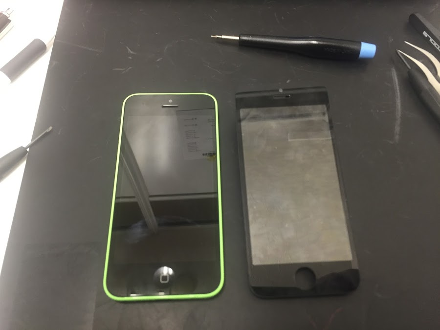 iphone修理新橋