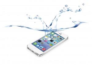 iPhone | 水没 | イラスト
