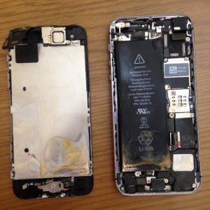 iPhone|水没修理|高崎市