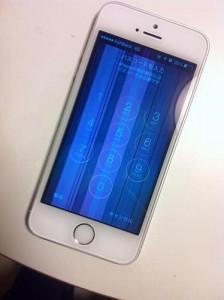 iPhone|水没|高崎市