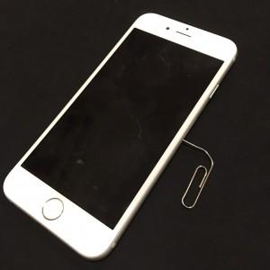 iphone6 | simピン代用ペーパークリップ