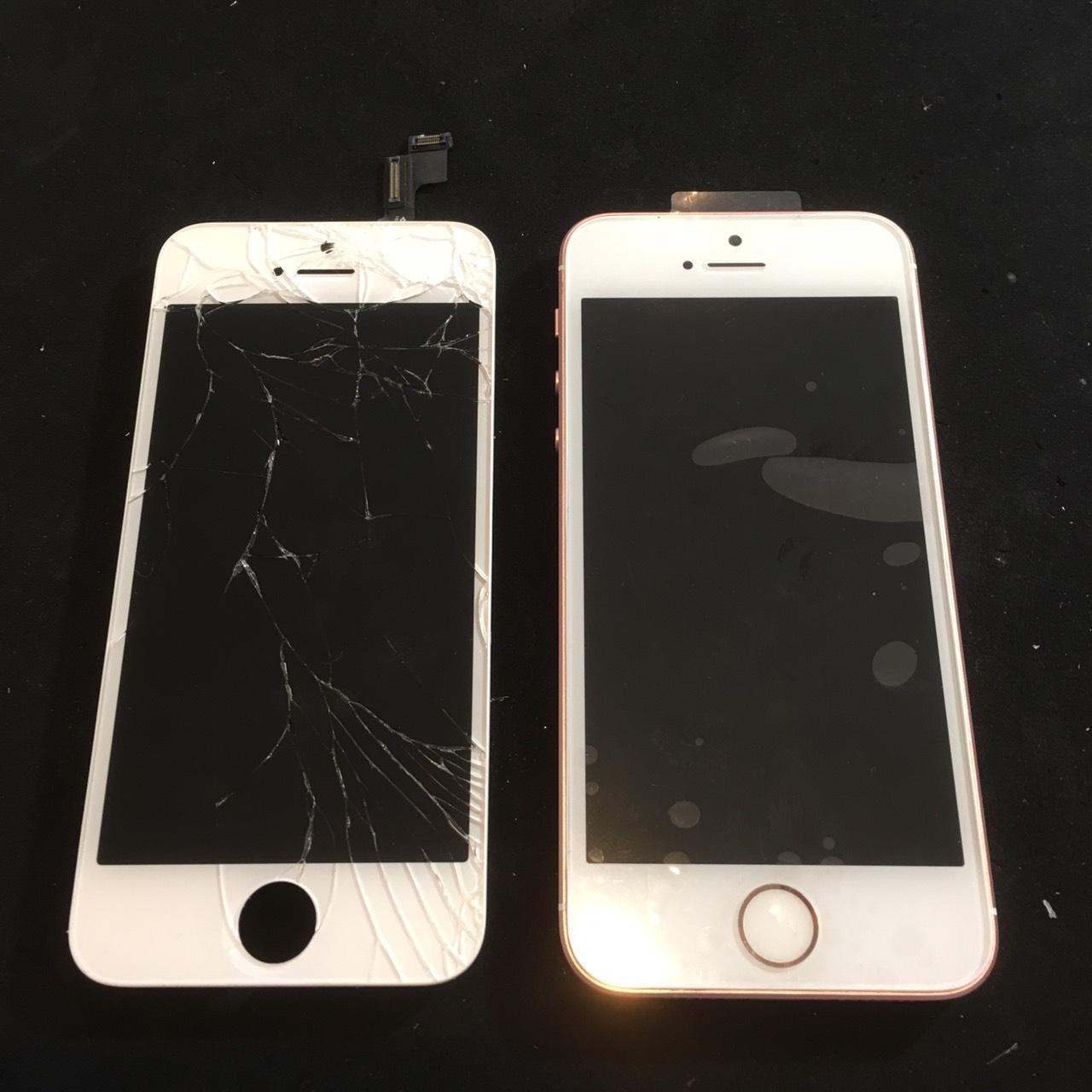 10.26 | iphone se | パネル交換修理