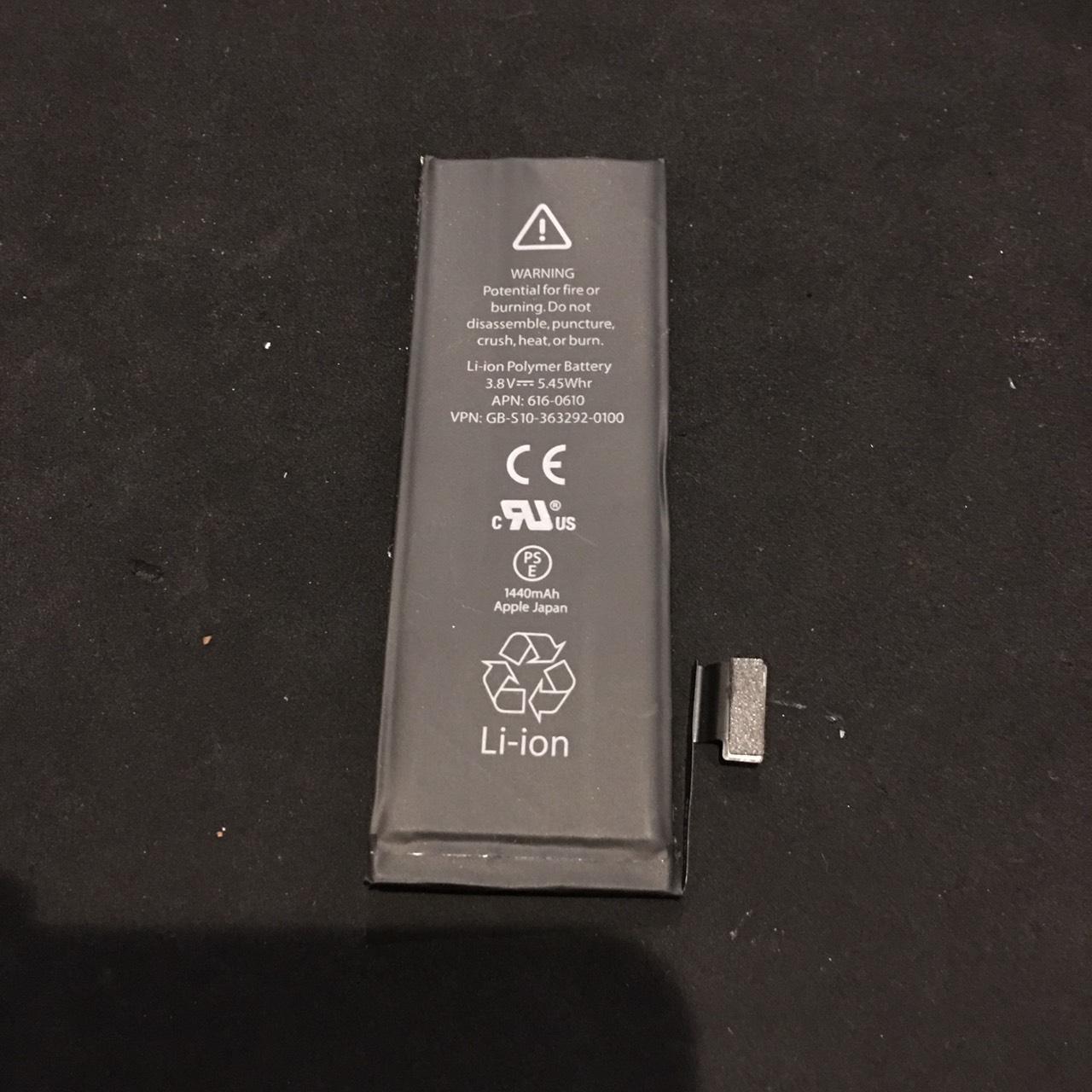 12.1 | iphone5 | バッテリー交換