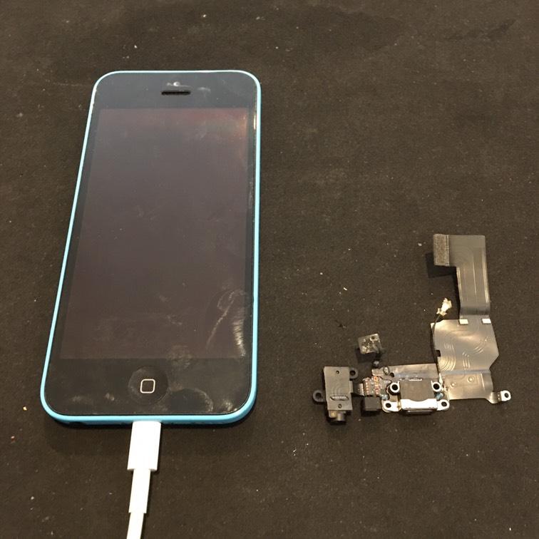 1204|iPhone5c|液晶パネル交換修理