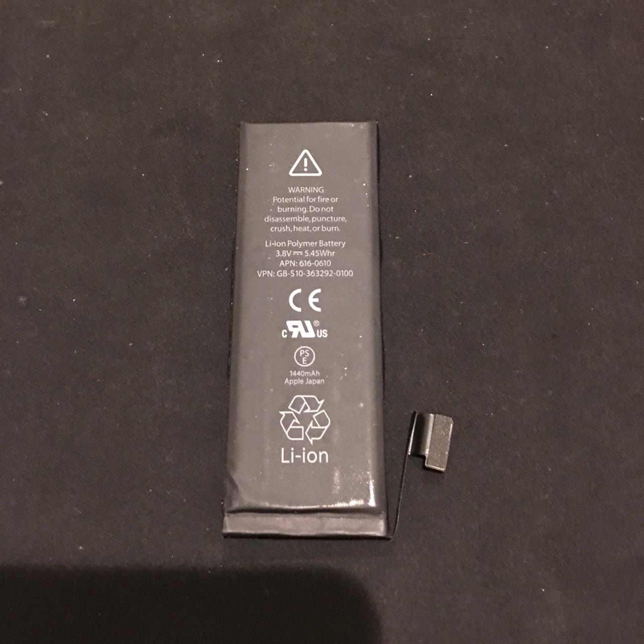 12.7 | iphone5 | バッテリー交換