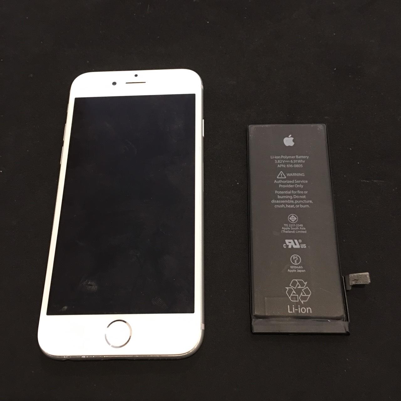 12.13 | iphone6 | バッテリー交換