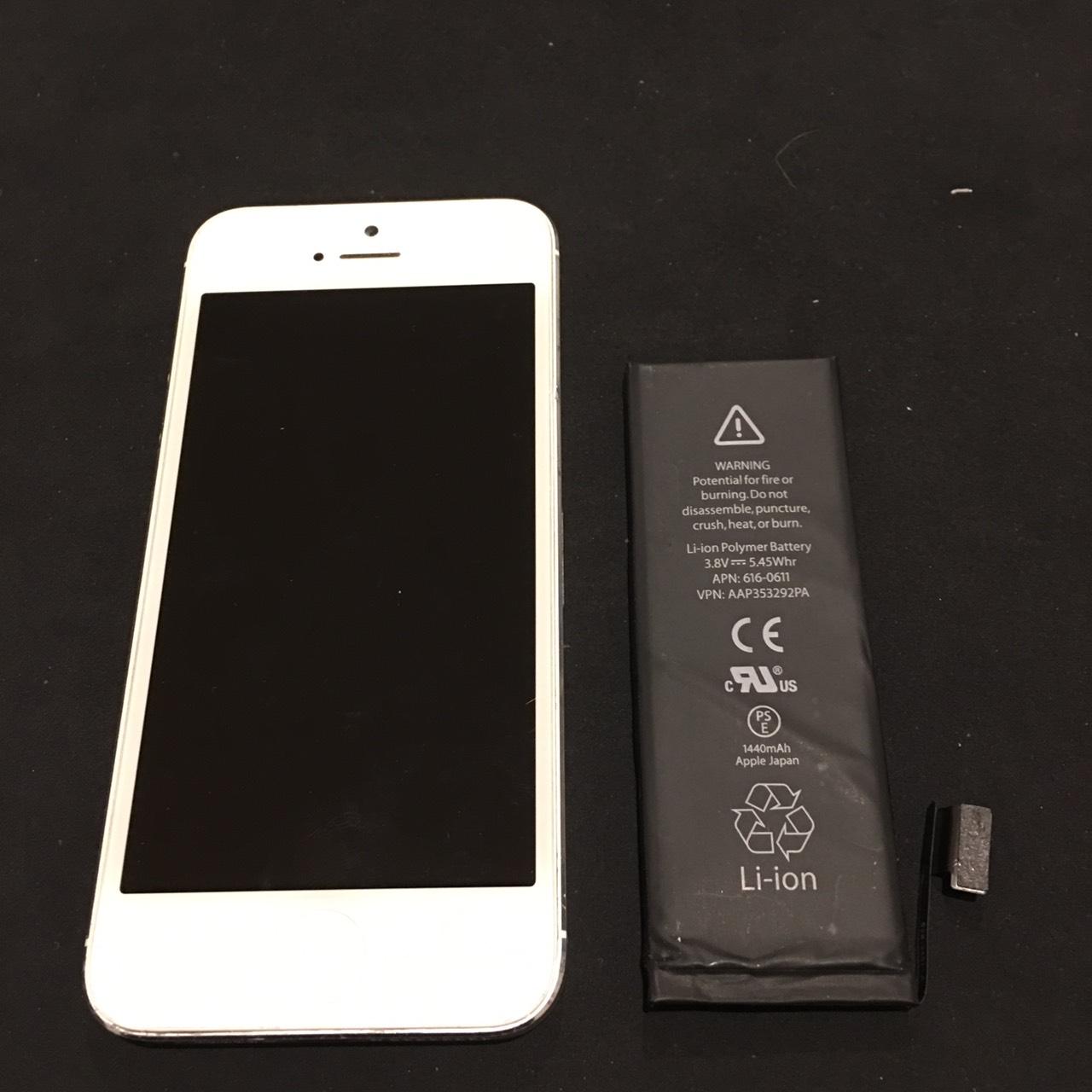12.13 | iphone5 | バッテリー交換