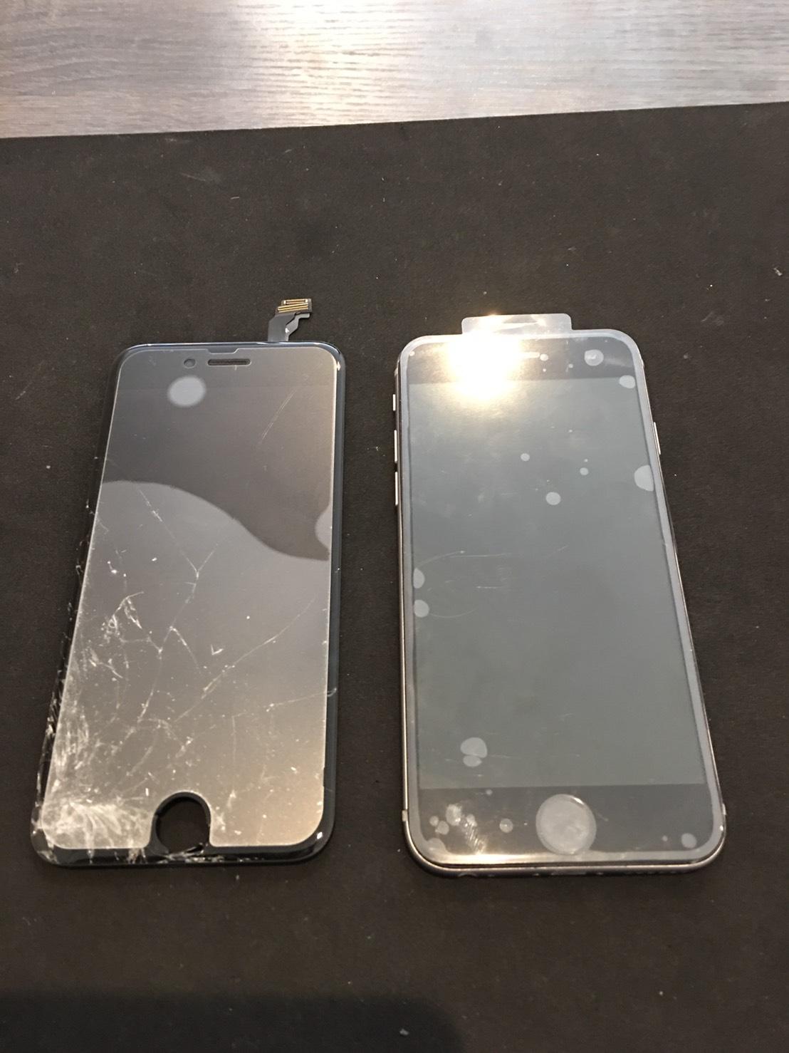0309 | iphone6 | 液晶パネル交換修理