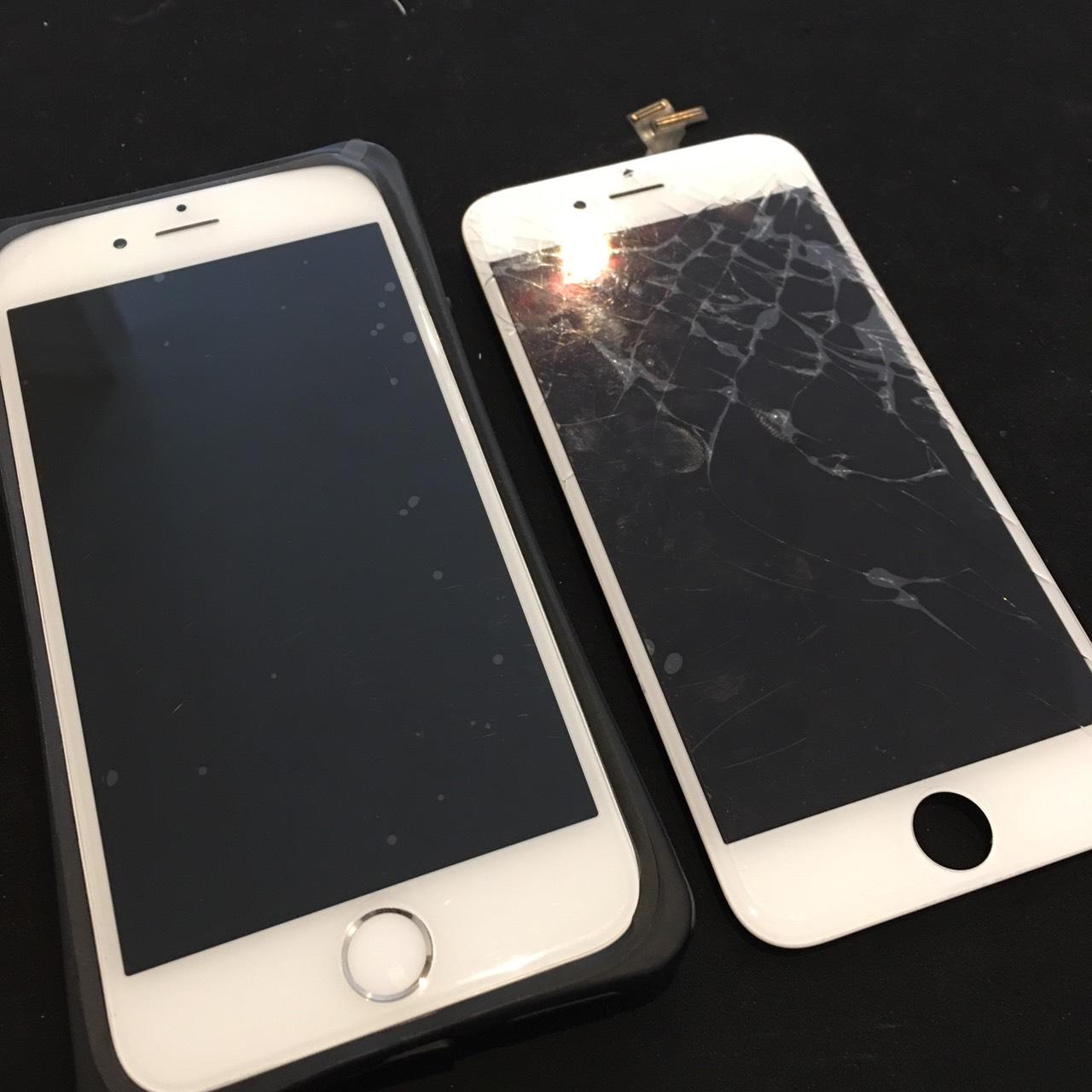 0122|iPhone6|液晶パネル交換修理