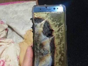 galaxy note 7 | burst
