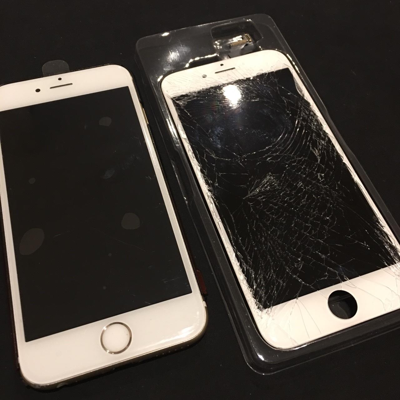 0211|iPhone6s|液晶パネル交換修理