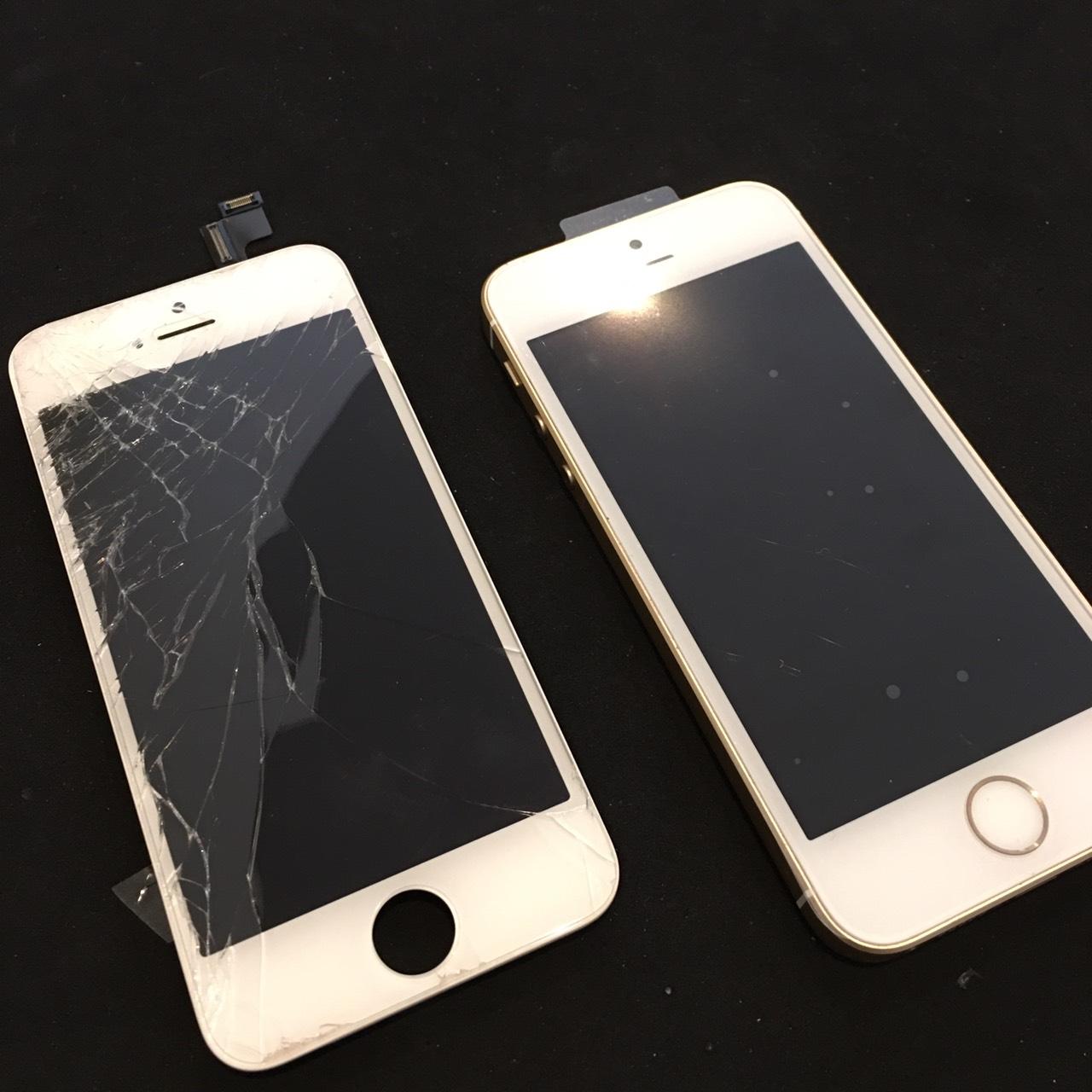 0305|iPhoneSE|液晶パネル交換修理