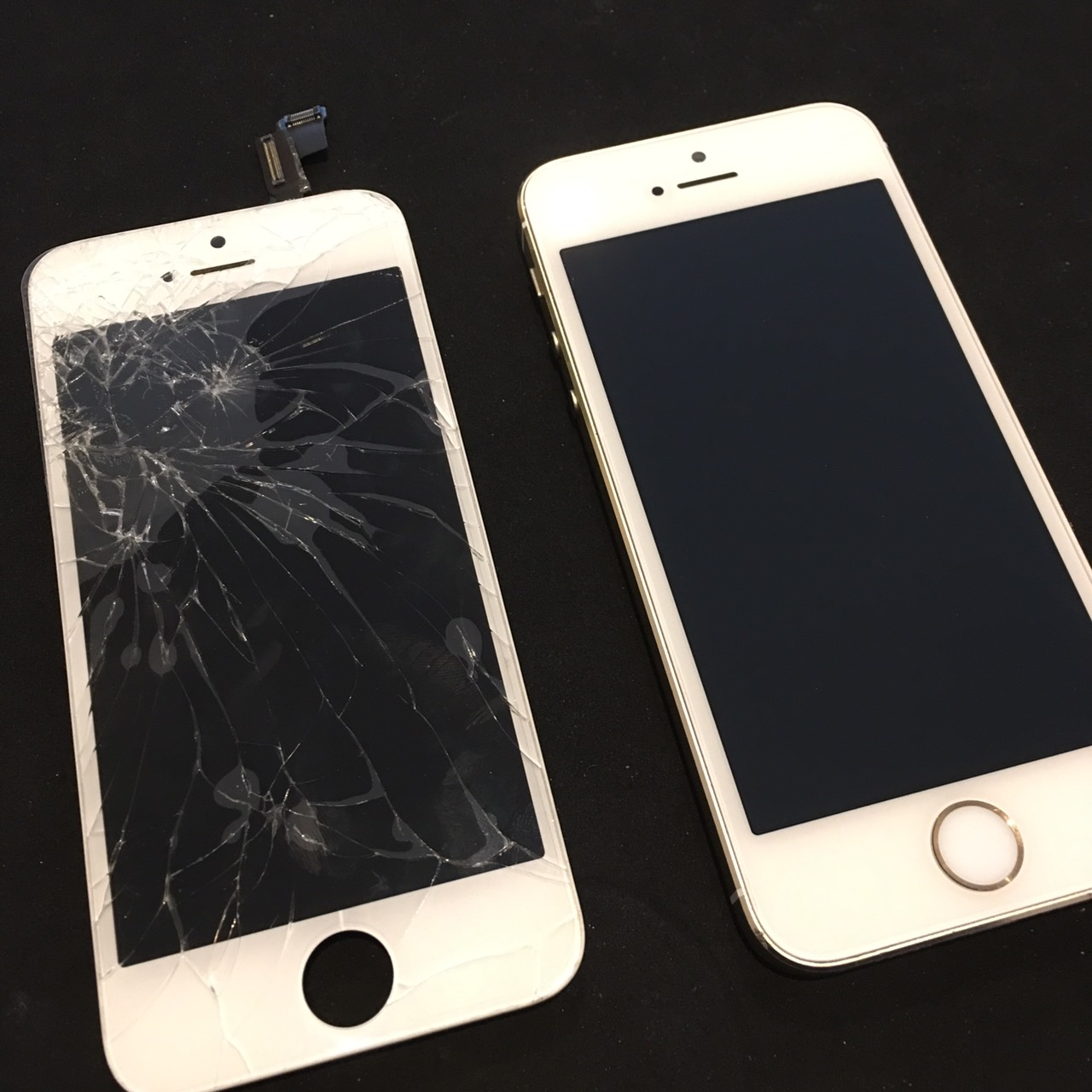 0313|iPhone5s|液晶パネル交換修理