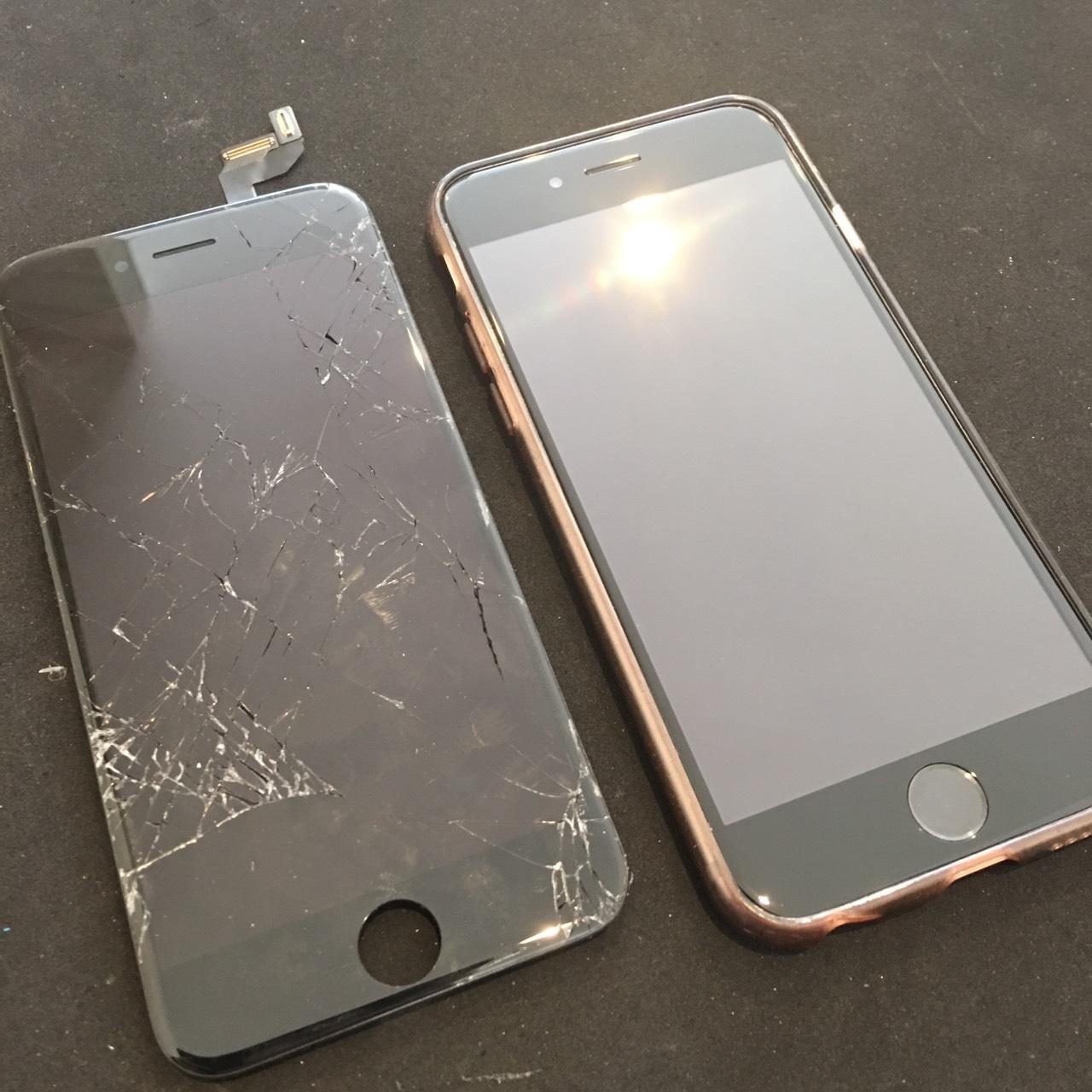 0407|iPhone6s|液晶パネル交換修理
