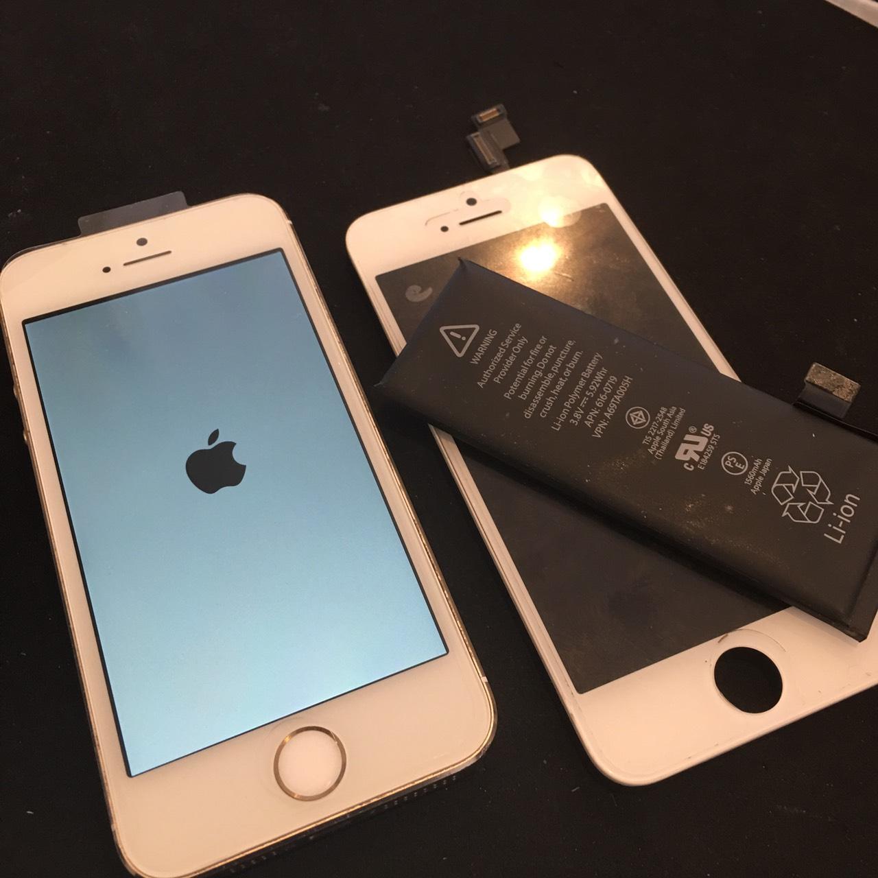 0413|iPhone5s|液晶パネル交換修理