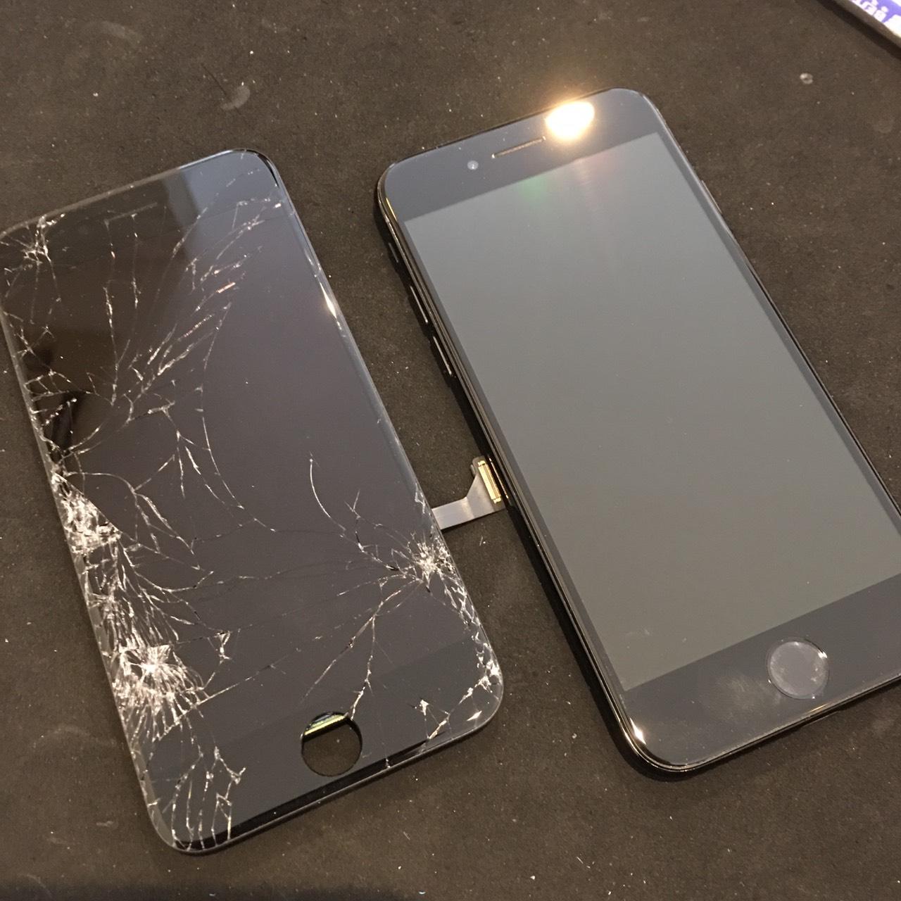 0527|iPhone7|液晶パネル交換修理