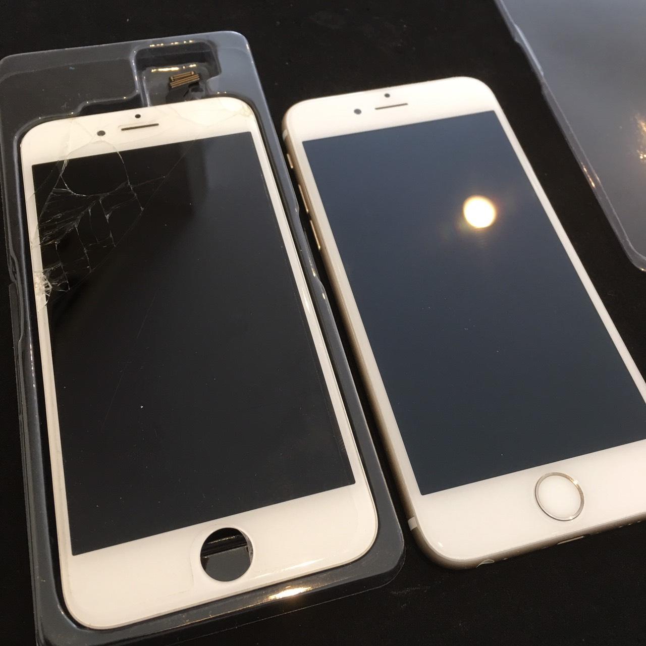0612|iPhone6|液晶パネル交換修理