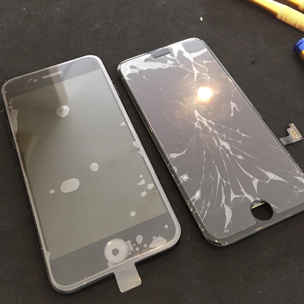 0612|iPhone7|液晶パネル交換修理