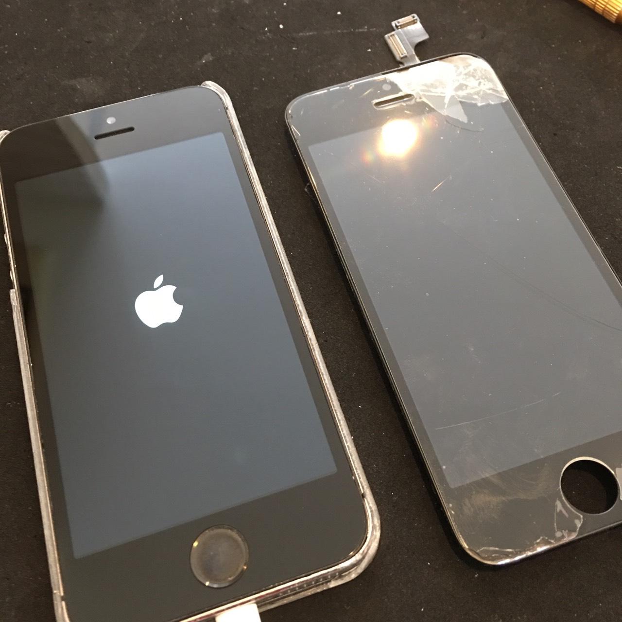 0710|iPhone5s|液晶パネル交換修理