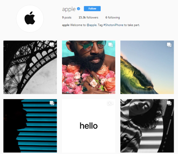 Apple-instagram