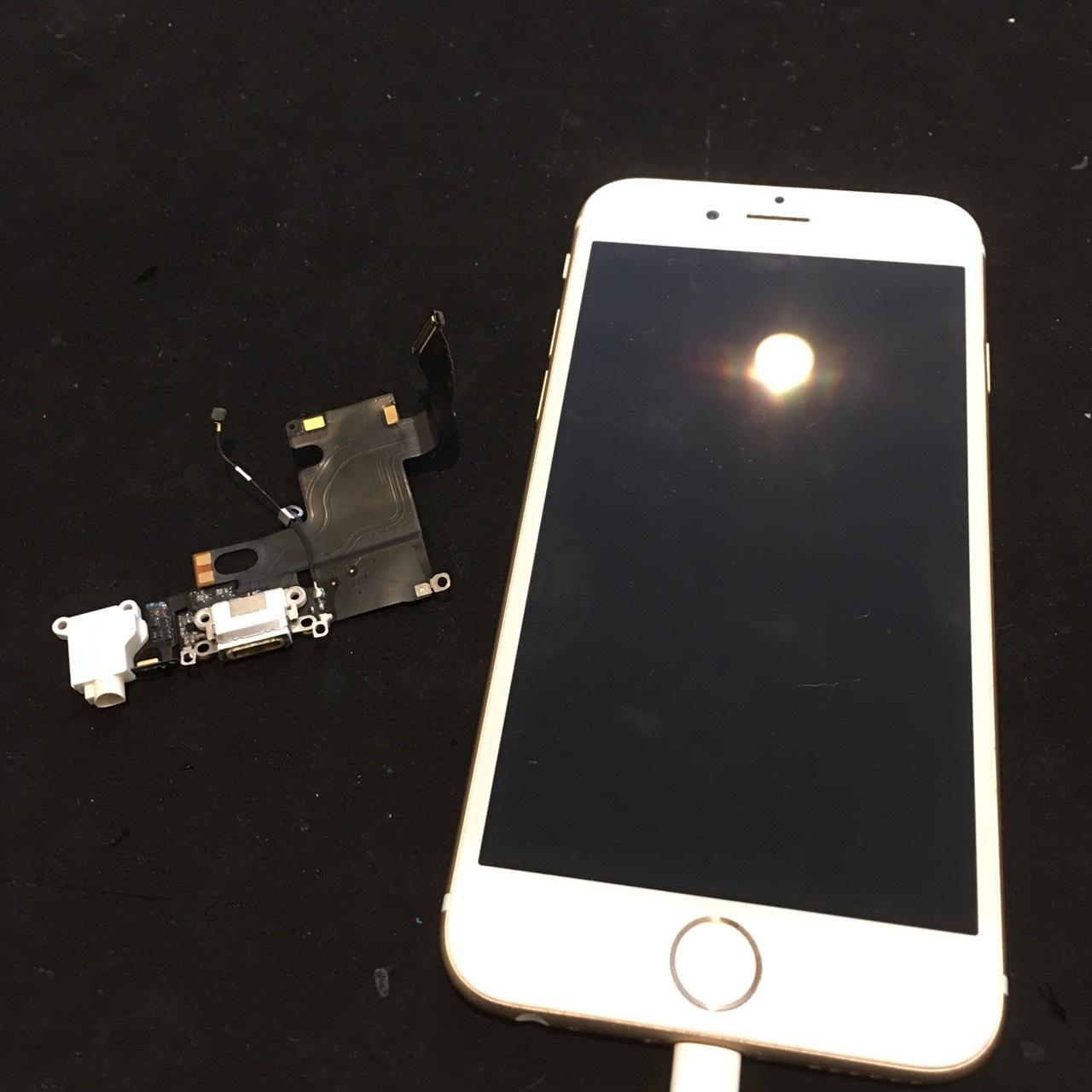 0817|iPhone6|充電ドック交換修理
