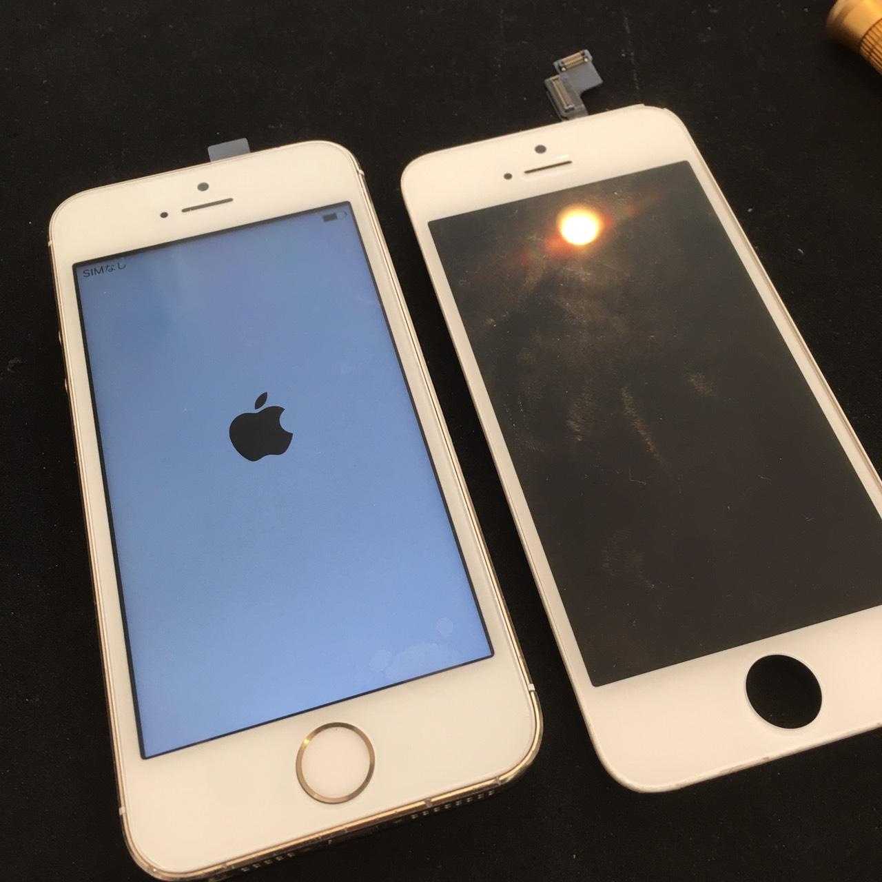 0818|iPhone5s|液晶パネル交換修理