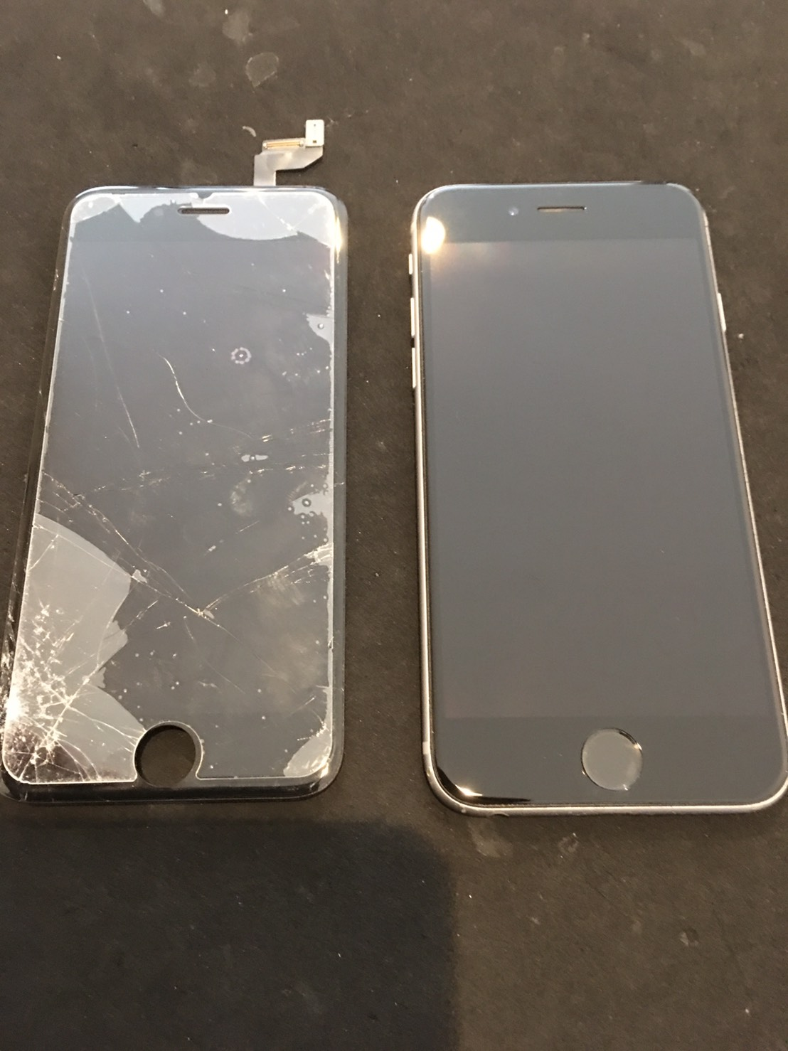 10.17 | iphone6s | パネル交換