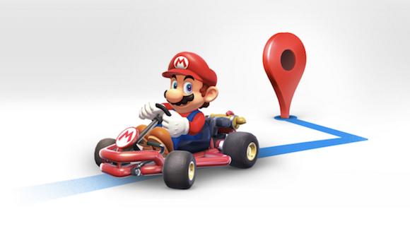 Googlemap-Mario