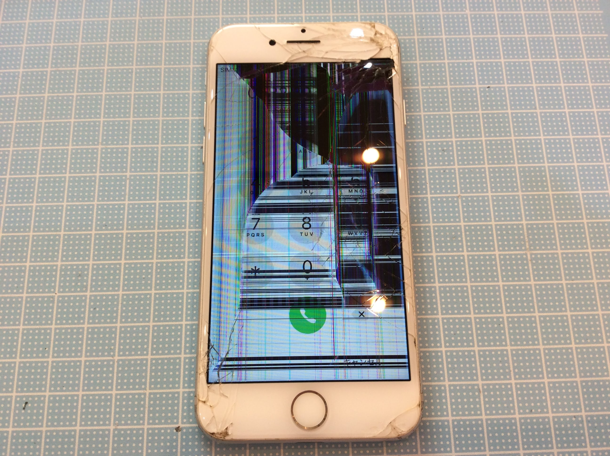 iPhone修理|小倉 修理前