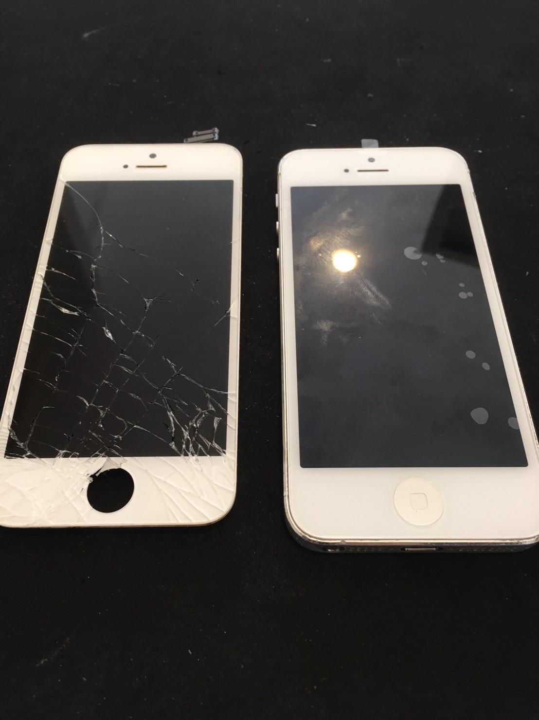 0609|iPhone5|液晶パネル交換修理