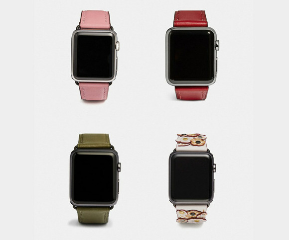 coach | apple watch band