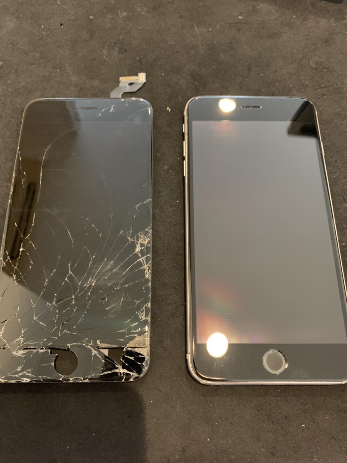 8.28 | iphone6splus | 液晶パネル交換