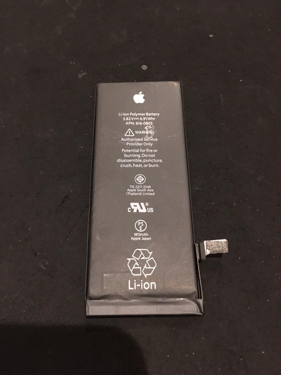 10.30 | iphone6 | バッテリー交換