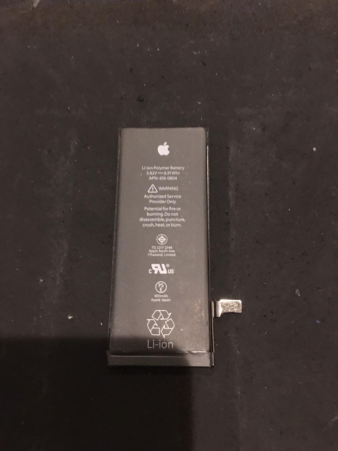 1.17 | iphone6 | バッテリー交換